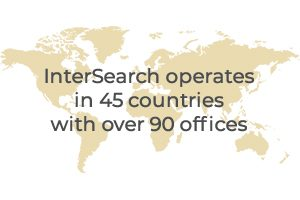2009 - InterSearch operates in 45 countries with over 90 offices