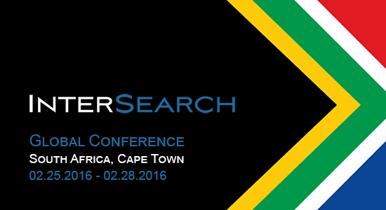 SouthAfrica - Cape Town InterSearch Conference 2016