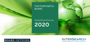 InterSearch and Board Network survey reveals a remarkable shift in boards' focus towards much more sustainable business models